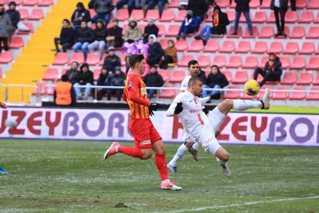 Hes Kablo Kayserispor 2-2 Fraport TAV Antalyaspor..
