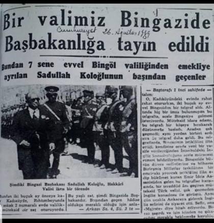 LİBYA'NIN İLK BAŞBAKANI KARAMAN'LIDIR..