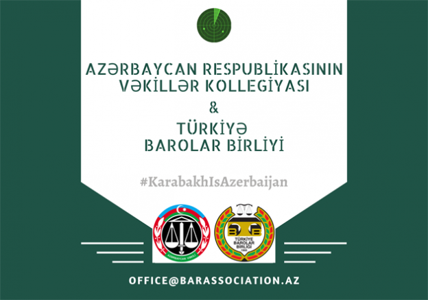 TÜRK V E AZERİ BAROLARDAN ERMENİSTAN'A TEPKİ.
